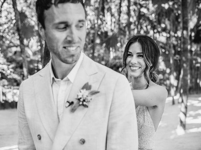 Joe and Bridget's Wedding in Tulum, Mexico 28