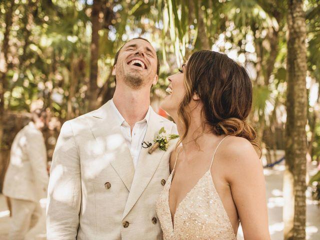 Joe and Bridget's Wedding in Tulum, Mexico 32