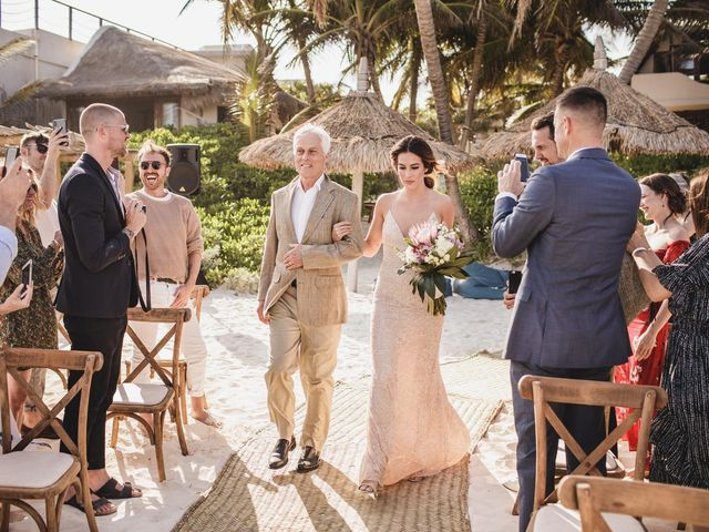 Joe and Bridget's Wedding in Tulum, Mexico 37