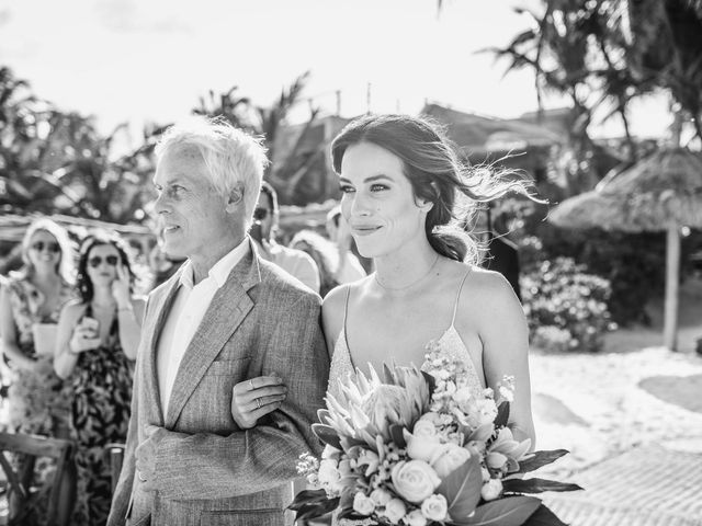 Joe and Bridget's Wedding in Tulum, Mexico 38