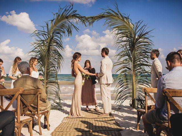 Joe and Bridget's Wedding in Tulum, Mexico 40