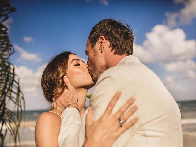 Joe and Bridget's Wedding in Tulum, Mexico 48