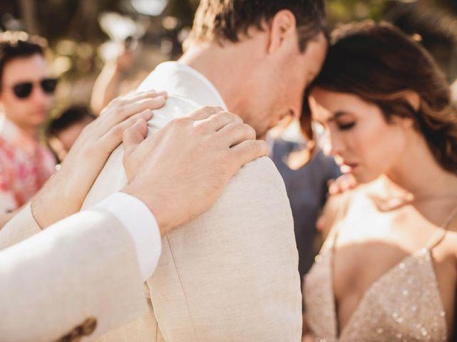 Joe and Bridget's Wedding in Tulum, Mexico 51