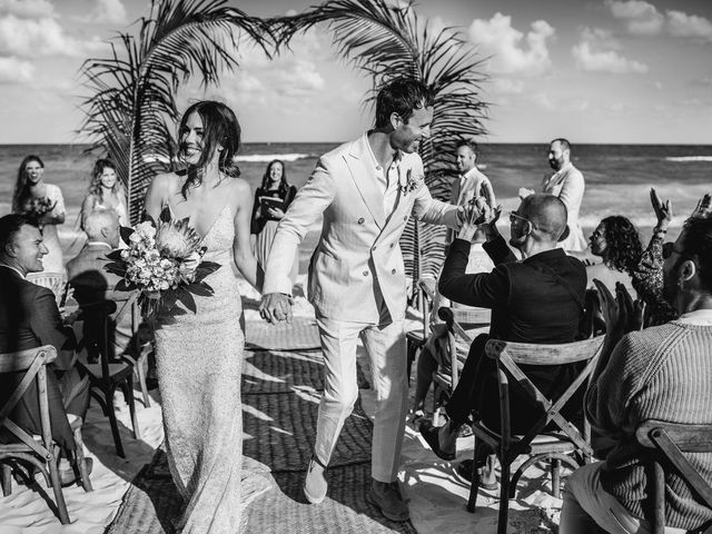 Joe and Bridget's Wedding in Tulum, Mexico 52