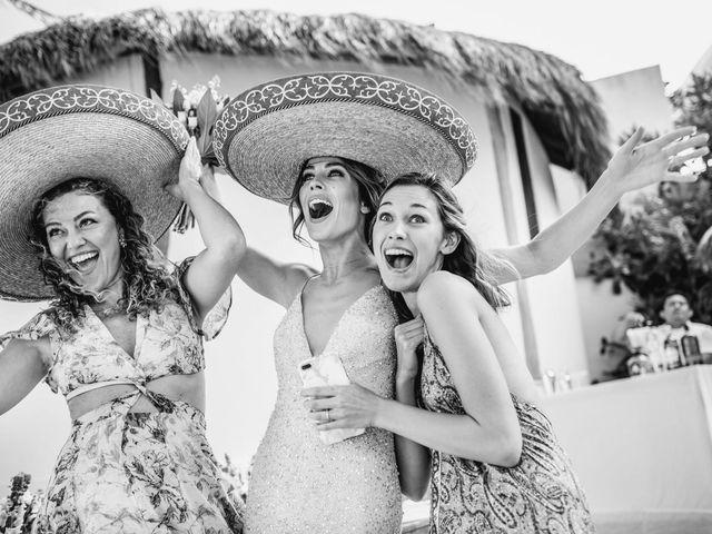 Joe and Bridget's Wedding in Tulum, Mexico 59