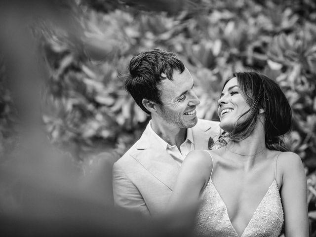 Joe and Bridget's Wedding in Tulum, Mexico 74