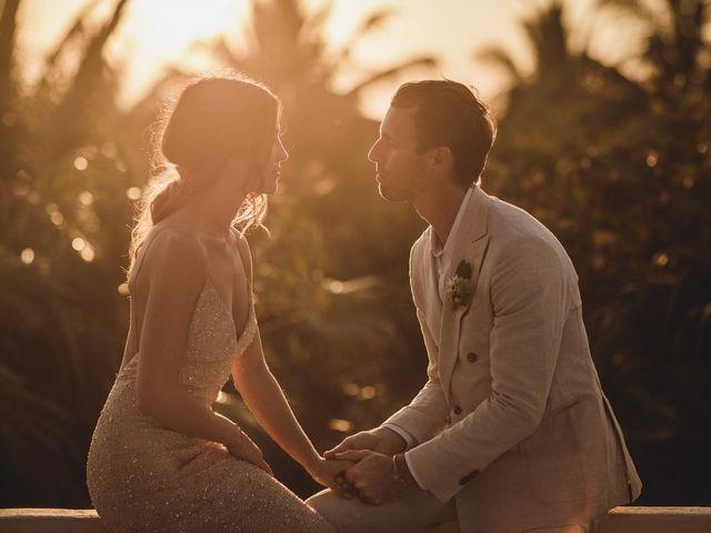 Joe and Bridget's Wedding in Tulum, Mexico 78