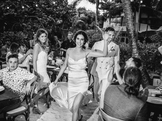 Joe and Bridget's Wedding in Tulum, Mexico 86