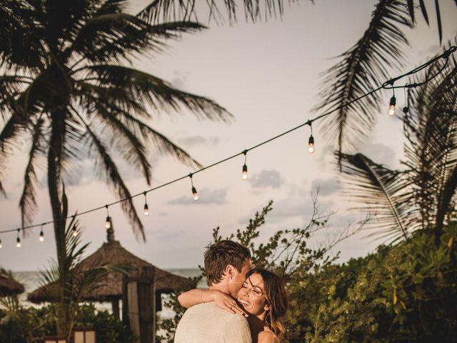 Joe and Bridget's Wedding in Tulum, Mexico 87