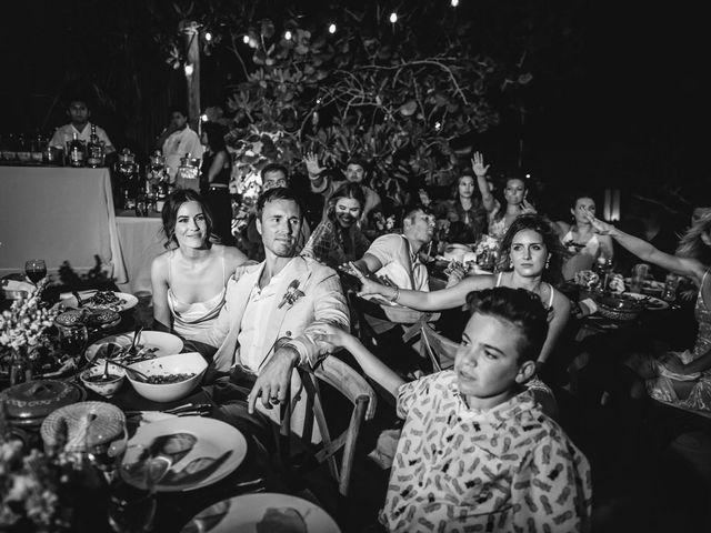 Joe and Bridget's Wedding in Tulum, Mexico 92