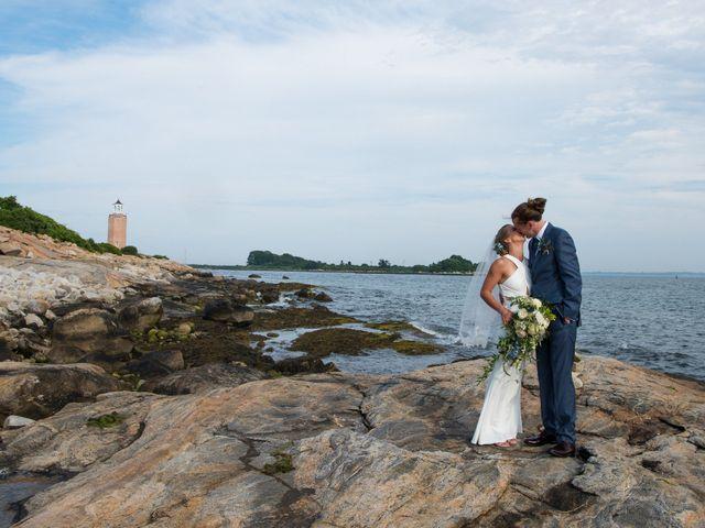 The wedding of Morgan and Caleb