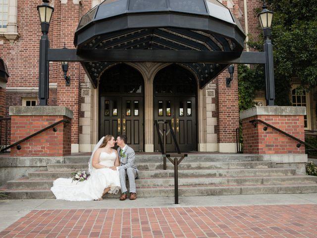 The wedding of Andrew and Amanda