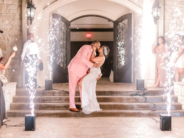 Barry and Cherish's Wedding in Little Elm, Texas 3