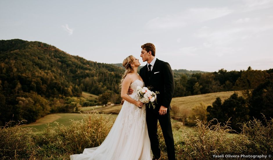 Anthony and Helen's Wedding in Weaverville, North Carolina
