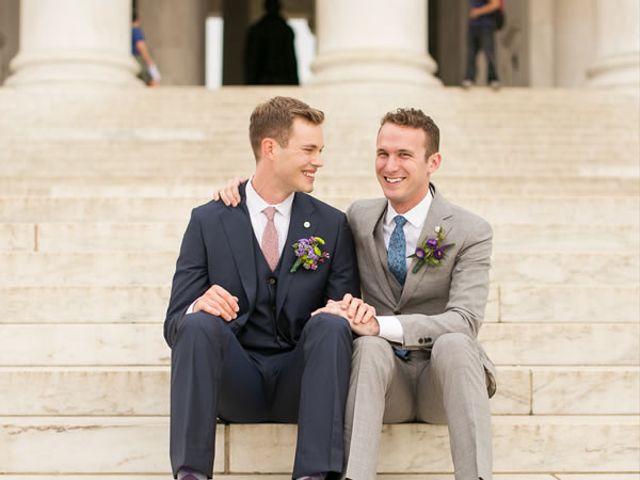The wedding of Christopher and Joshua