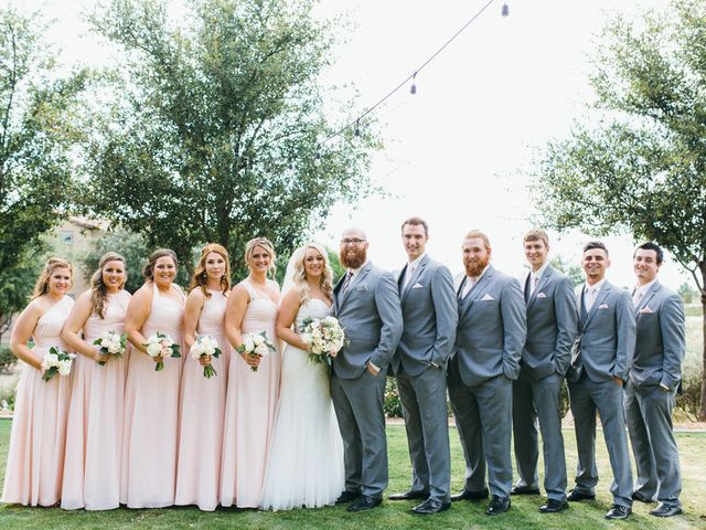 Melissa and Andrew's Wedding in San Tan Valley, Arizona 13