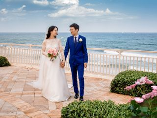 The wedding of Maggie and Jichen
