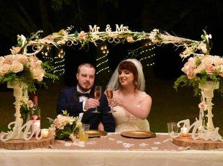 The wedding of Raya and Eric