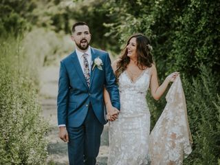 The wedding of Victoria and Kyle