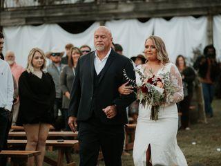 The wedding of Hannah and Rob