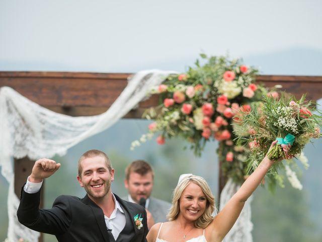 Jared and Lynnsie's Wedding in Spokane, Washington 12