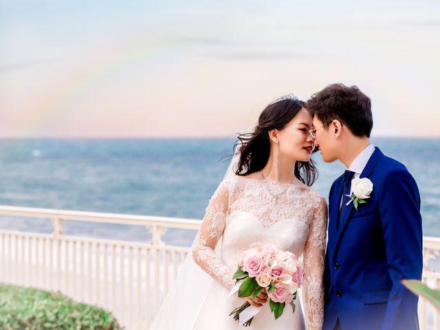 Jichen and Maggie's Wedding in Palm Beach, Florida 14