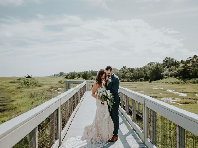 Kyle and Victoria's Wedding in Absecon, New Jersey 45