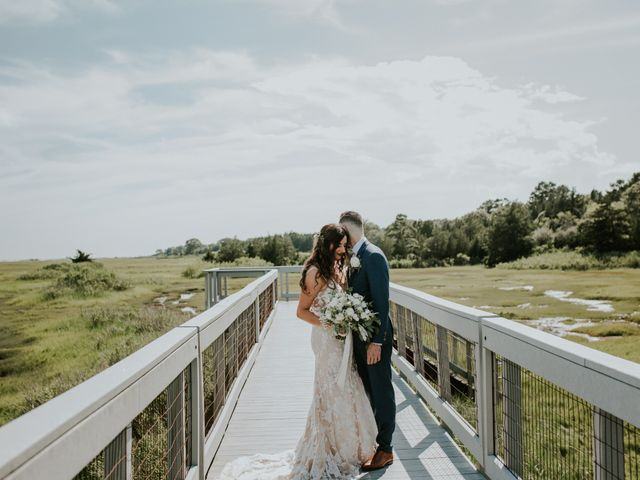Kyle and Victoria's Wedding in Absecon, New Jersey 46