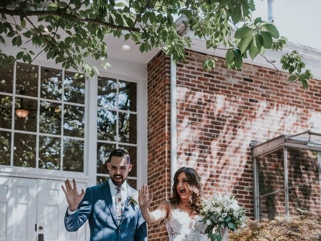 Kyle and Victoria's Wedding in Absecon, New Jersey 55