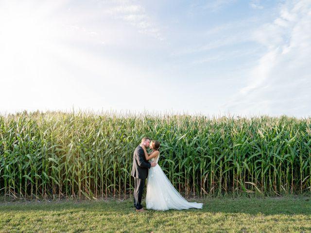 The wedding of Caleb and Kassidy