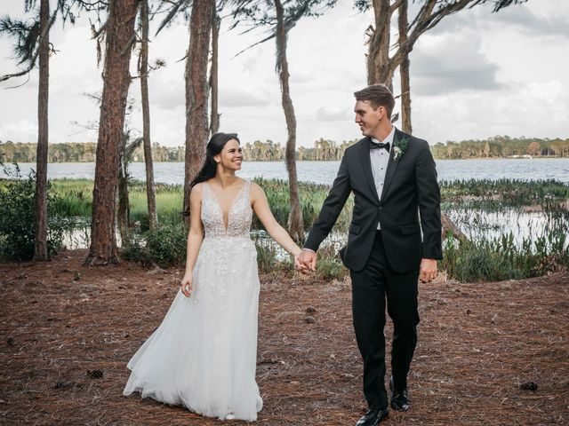 Ashten and Brittany's Wedding in Saint Cloud, Florida 50