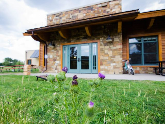 Anna and Kyle's Wedding in Steamboat Springs, Colorado 1