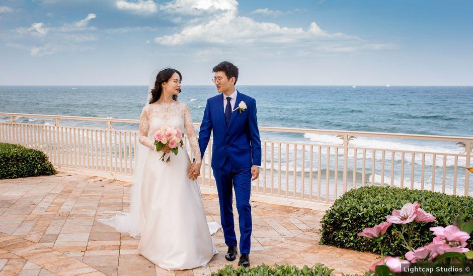 Jichen and Maggie's Wedding in Palm Beach, Florida