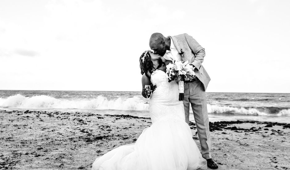 Corey and  Shakiera's Wedding in Cancun, Mexico