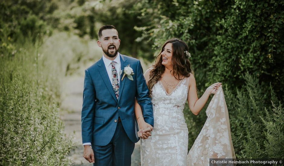 Kyle and Victoria's Wedding in Absecon, New Jersey