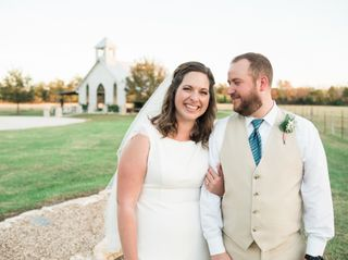 The wedding of Stephanie and William