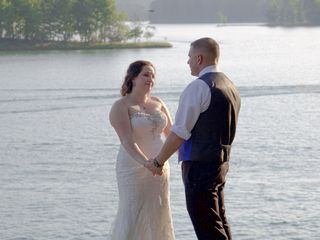The wedding of Nichole and Cole