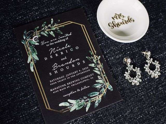 Brandon and Nicole's Wedding in Philadelphia, Pennsylvania 1