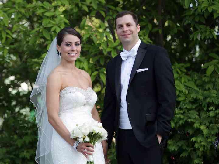 The wedding of Greg and Liz