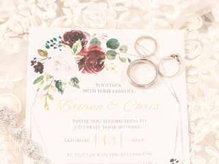 The wedding of Briana and Chris 1