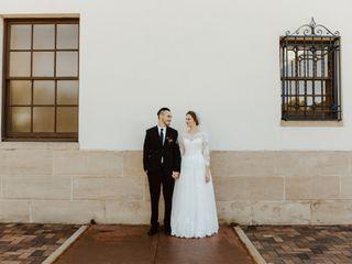 The wedding of Michaela and Sam