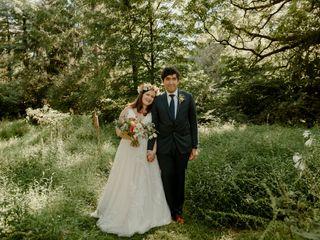 The wedding of Camilla and David