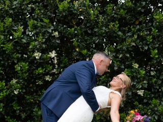 The wedding of Mike and Charlcie 1