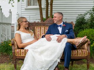 The wedding of Mike and Charlcie