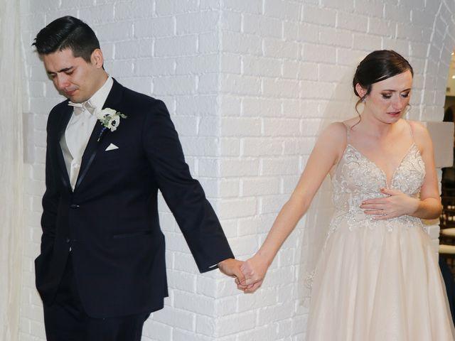 The wedding of John and Ashley