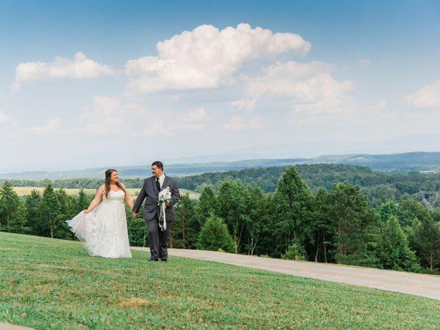 The wedding of McKenna and Eric