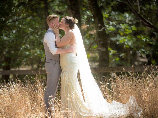 The wedding of Meg and Chris