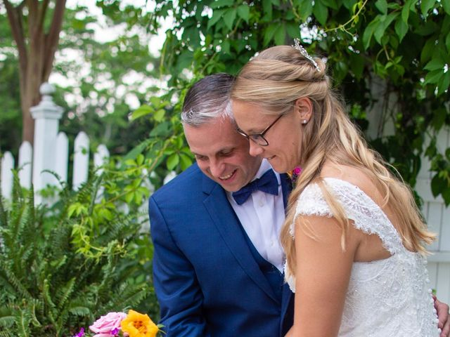 Charlcie and Mike's Wedding in Maysville, North Carolina 8
