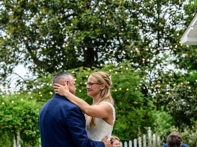 Charlcie and Mike's Wedding in Maysville, North Carolina 16
