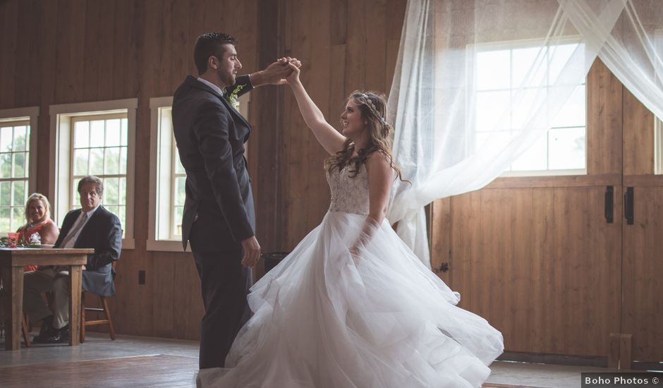 Joseph and Kimberly's Wedding in Akron, New York